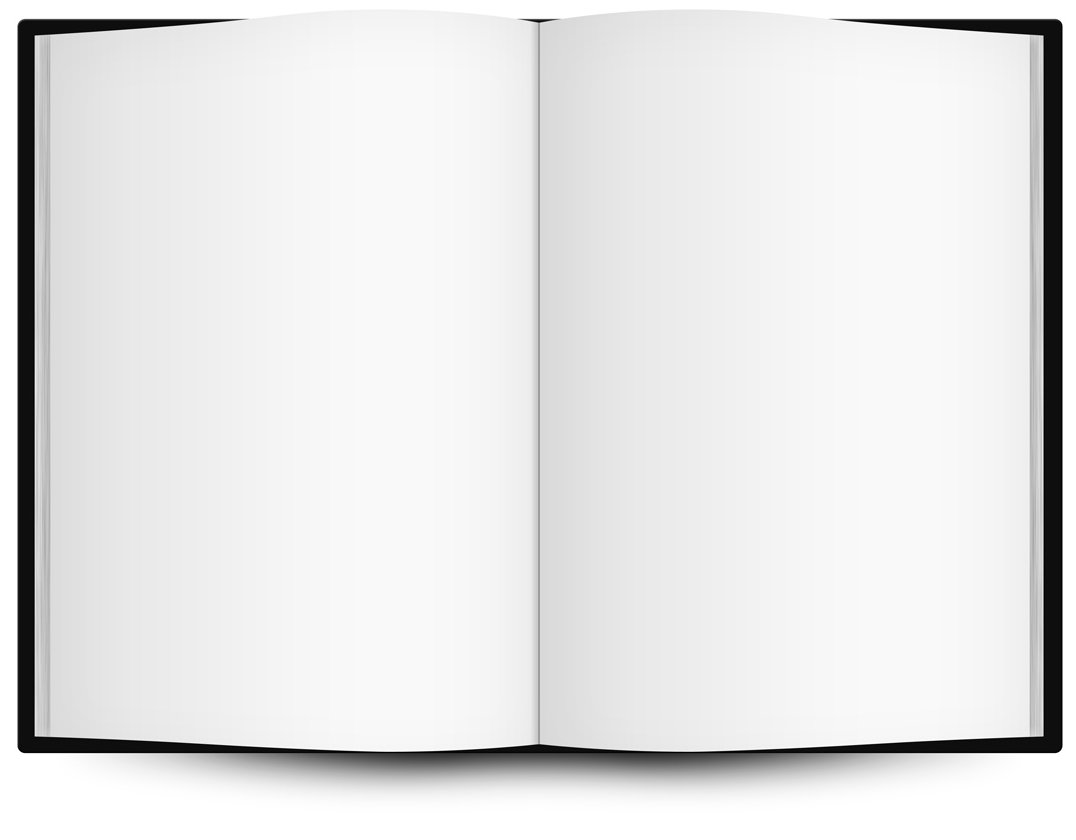 clipart open book blank pages - photo #2