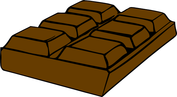 Cartoon chocolate bar - Picture of bars ...