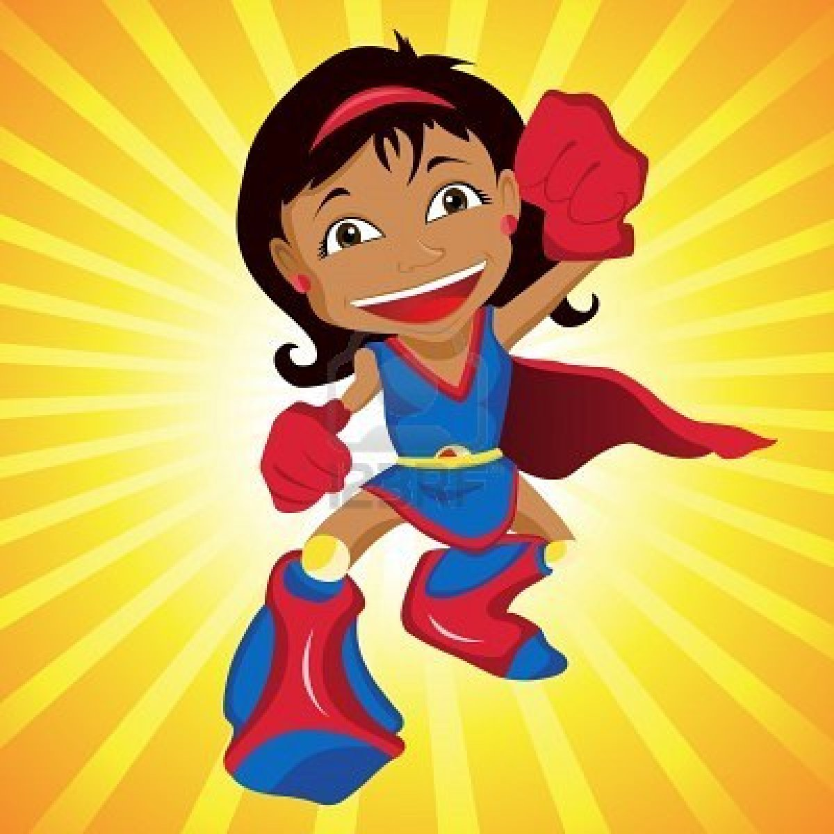 Superwoman Flying | Clipart Panda - Free Clipart Images