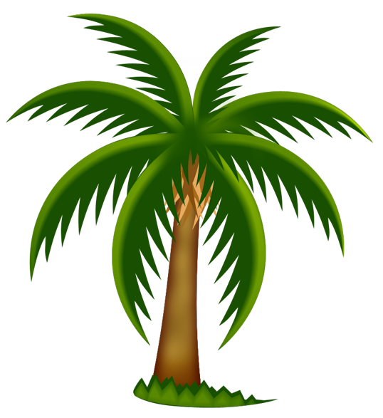 palm tree clip art - photo #24