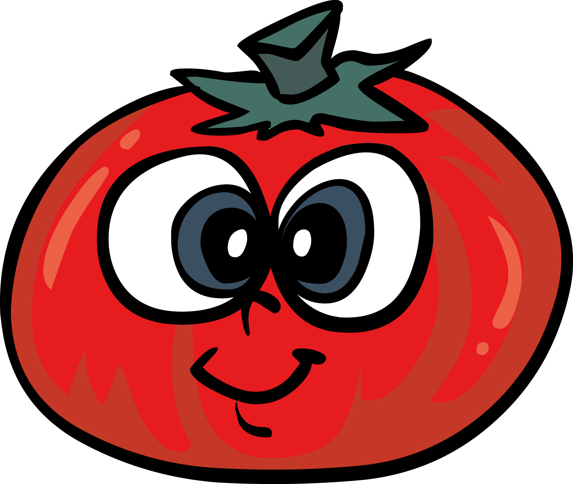 Images For > Tomatoes Clipart