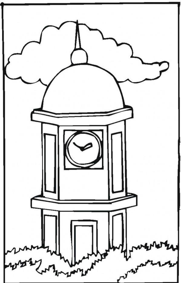 clip art clock tower - photo #11