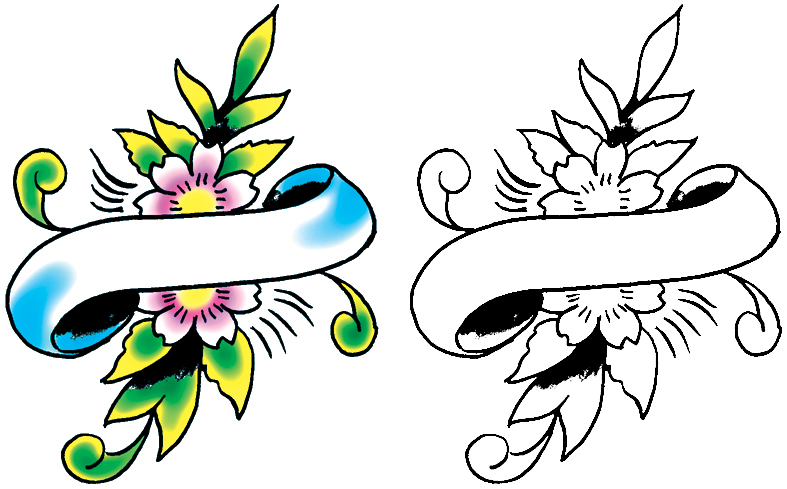 Tattoo Banners Designs Cliparts Co