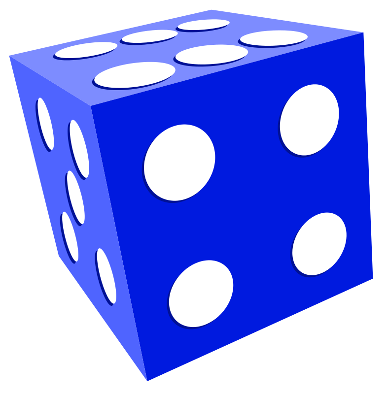Free to Use & Public Domain Dice Clip Art