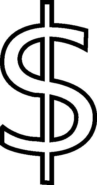 Dollar Sign Outline