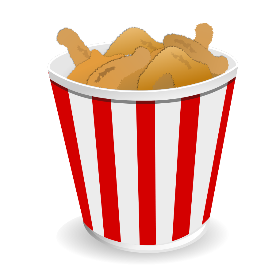 clipart of chicken nuggets - photo #47