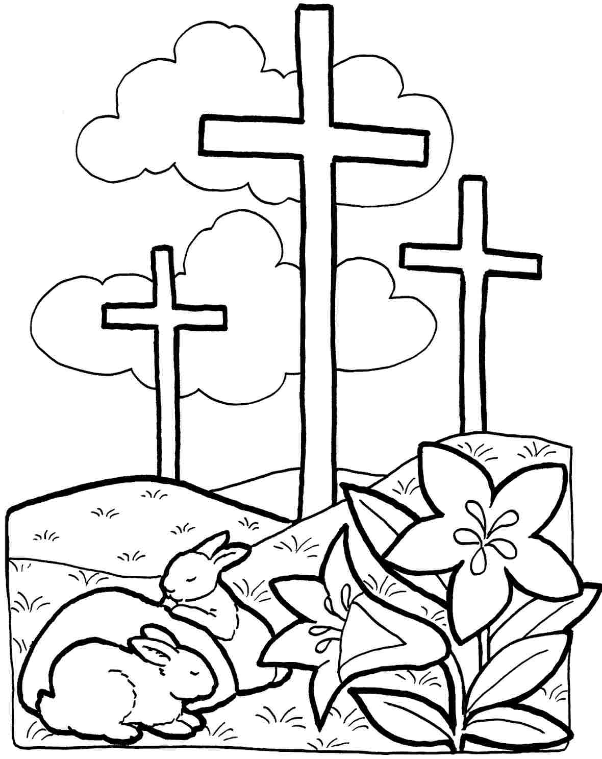 Easter coloring pages printable religious - Religious Spring Coloring Pages Born Again Girl Coloring Pages Submitted Id 2102 Uncategorized