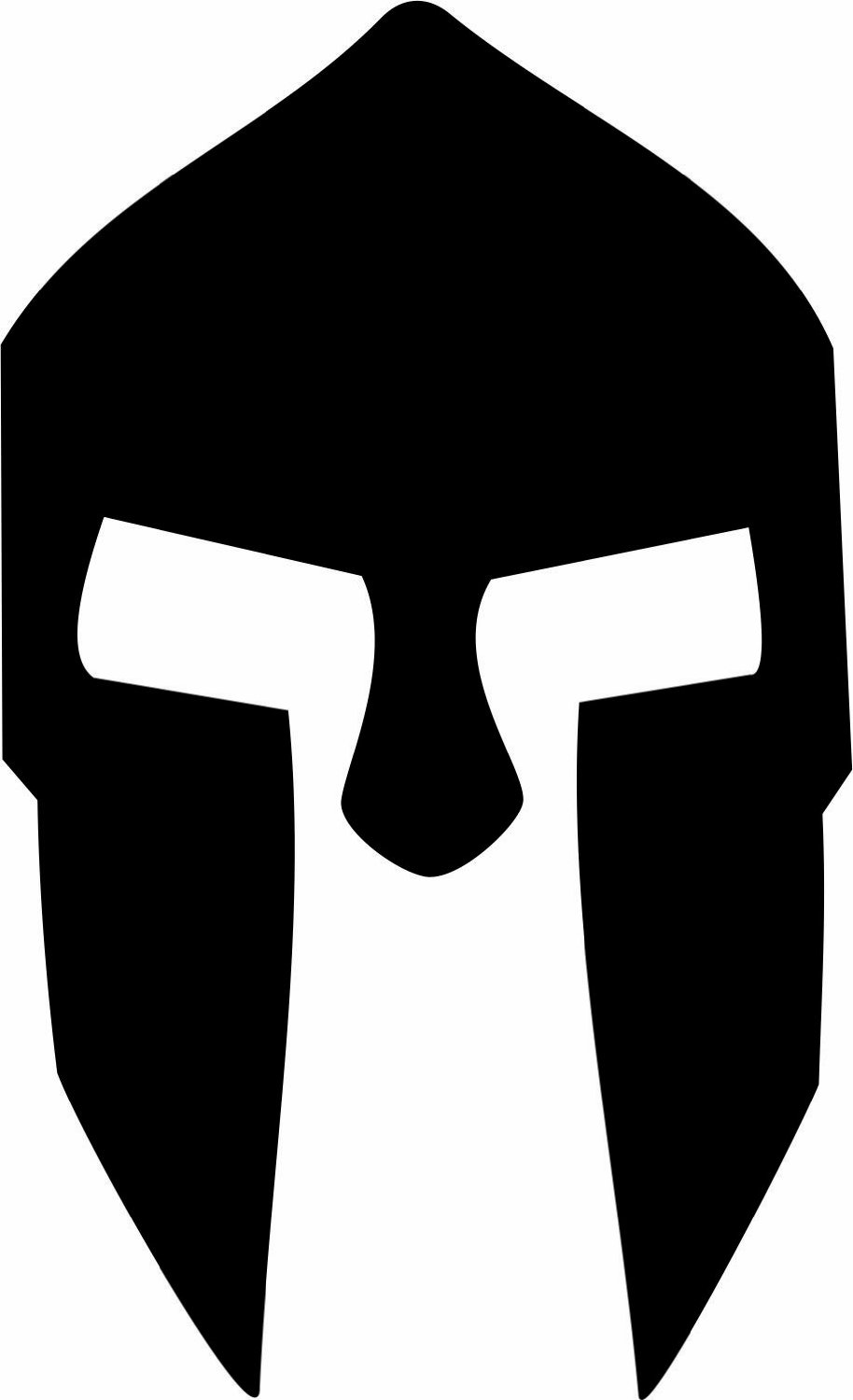 Amazon.com: 300 Spartan Helmet Car Window Vinyl Decal Sticker 4 ...