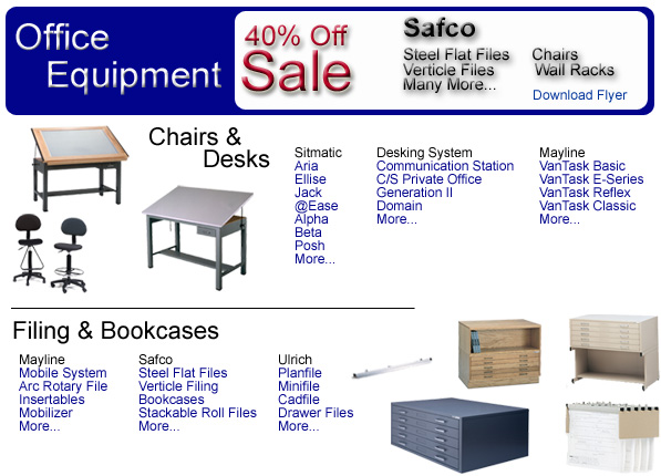 List of Types of Office Equipment