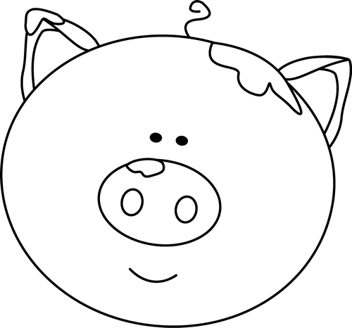 Pig Clipart Black And White - Cliparts.co