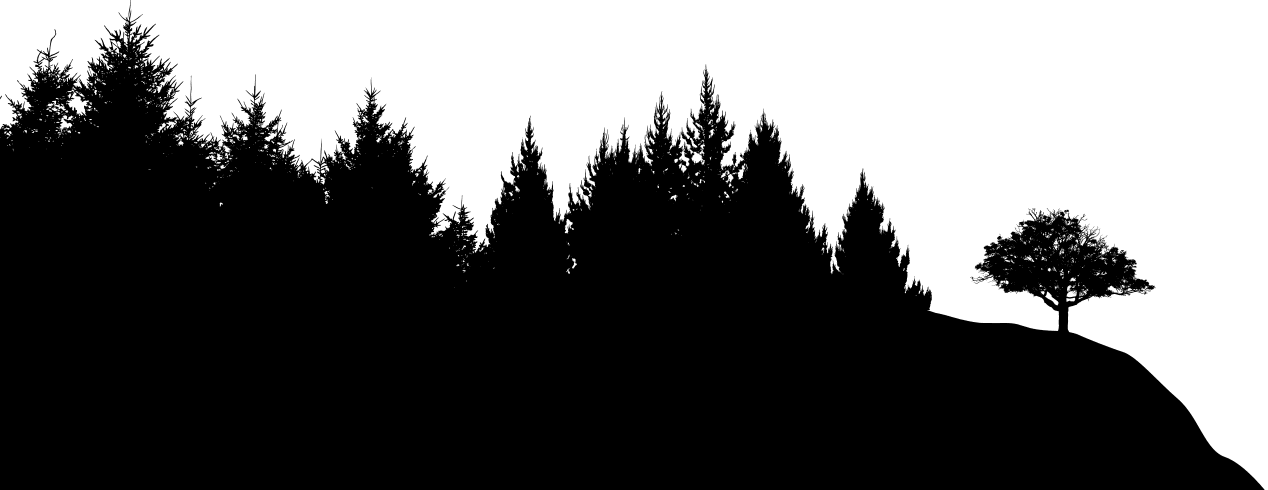 Forest Silhouette - Cliparts.co