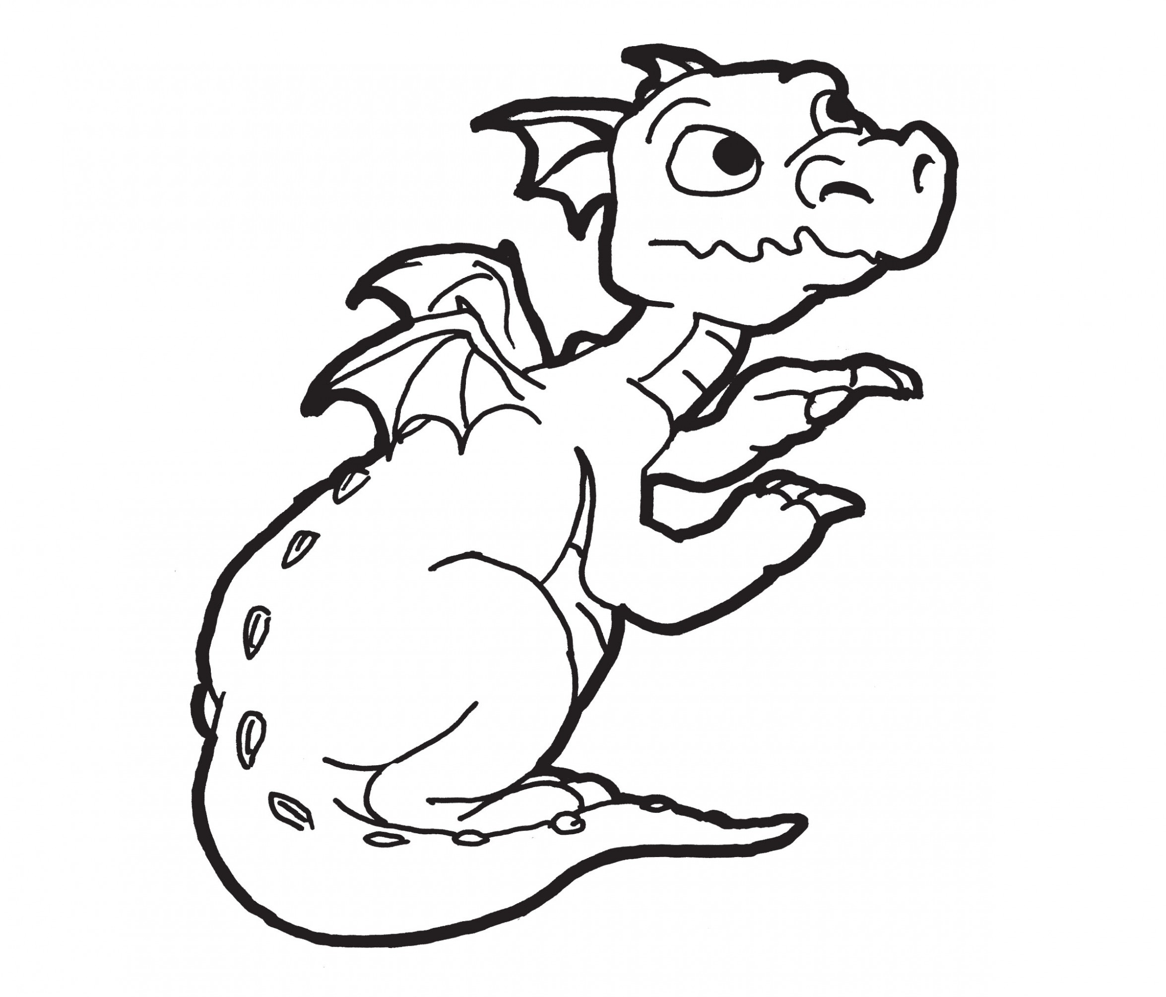 Free coloring pages komodo dragon - Co Coloring Pages For Adults Dragons Komodo Dragon Pictures To Color Gallery