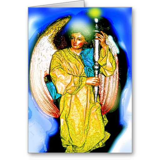 BOY ANGEL CARDS | Zazzle