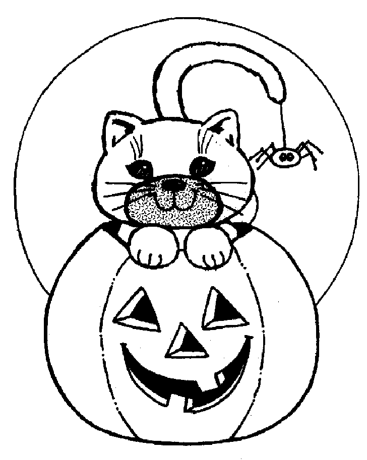 curious george pumpkin coloring pages - photo#18