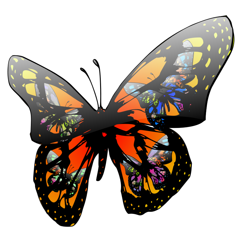 Butterfly Wings Clip Art - Cliparts.co