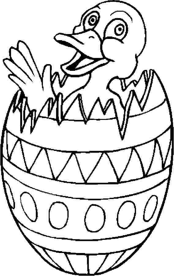 Easter Coloring Page Easter Chick Pictures Cliparts Co