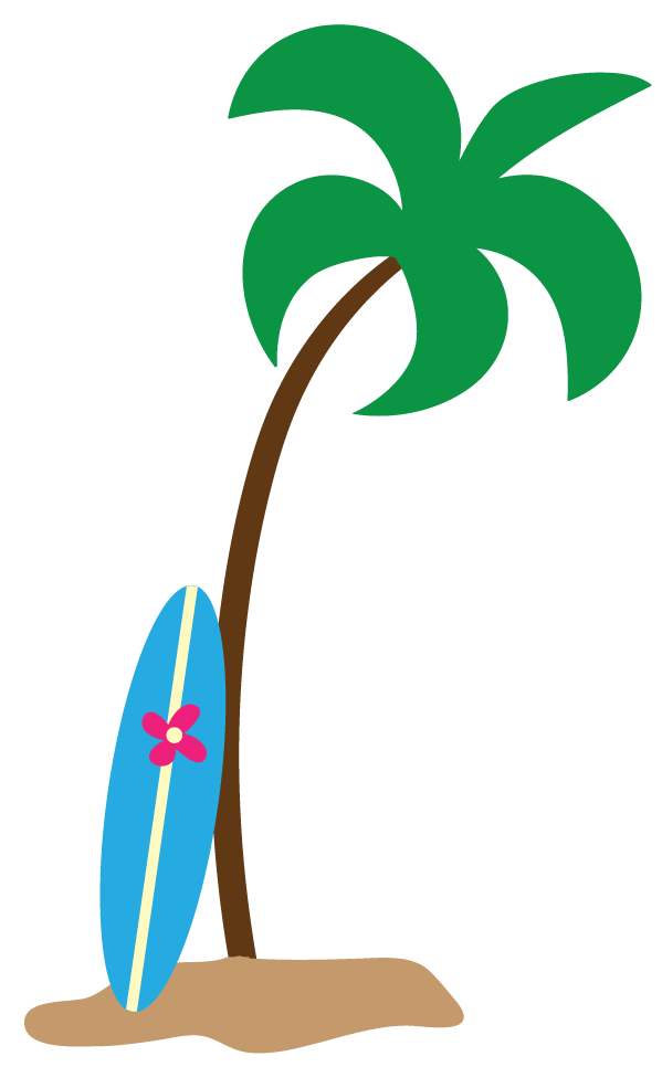 Luau Party Clip Art