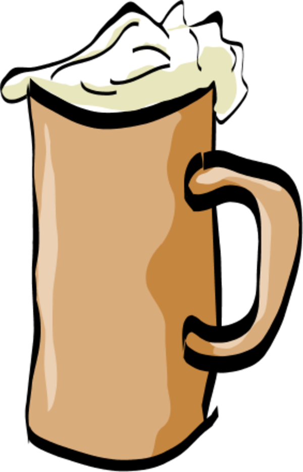 beer mug - vector Clip Art