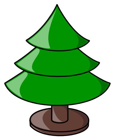 Free Christmas Tree Clipart - Public Domain Christmas Clip ...