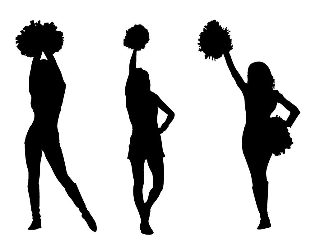 cheerleader clipart svg - photo #45