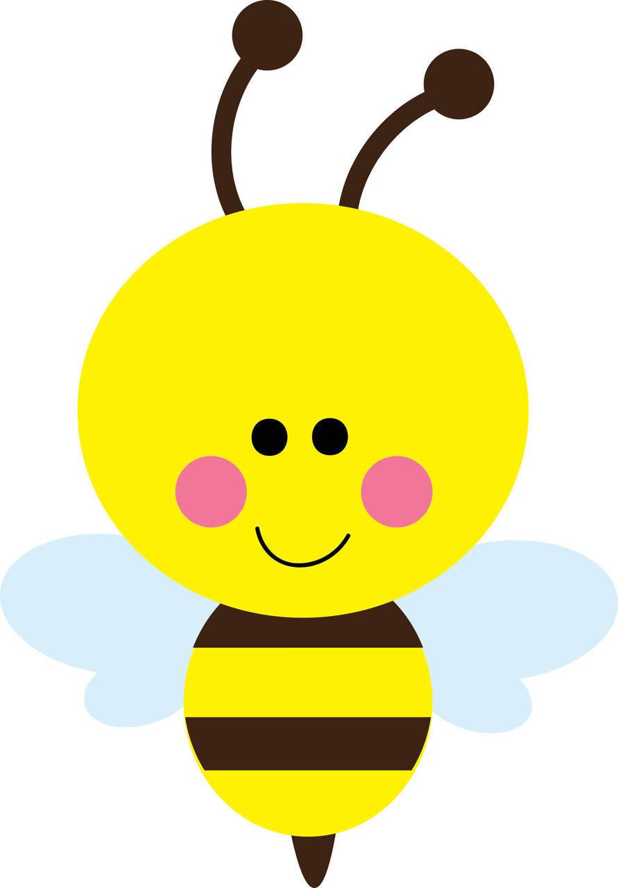 clipart cute bee - photo #2