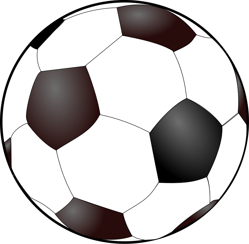 sports clip cliparts clipart sport ball soccer football vector graphics various