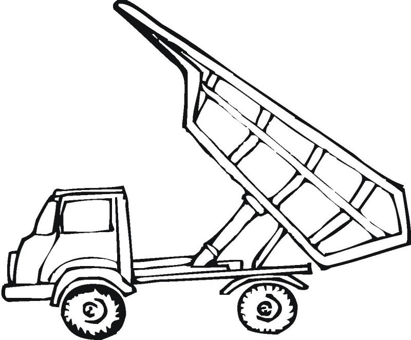 forklift trucks coloring pages