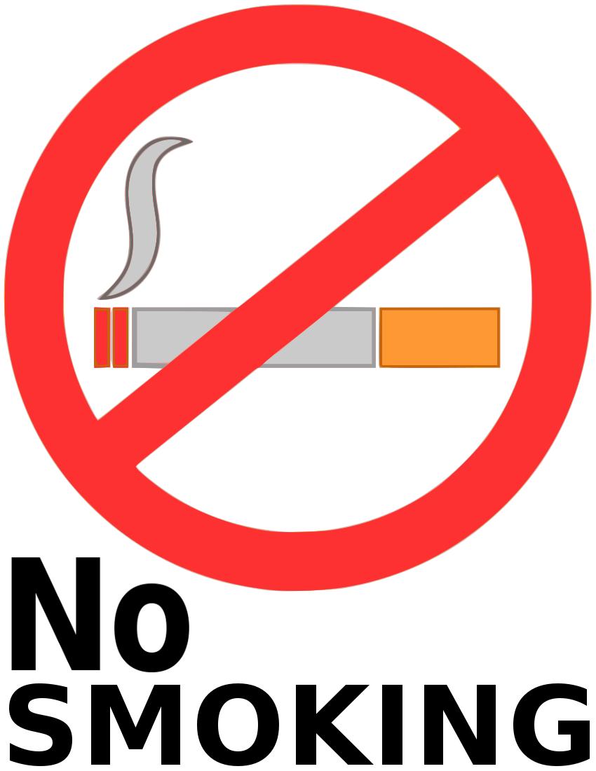 No Smoking Symbol Clip Art - Cliparts.co