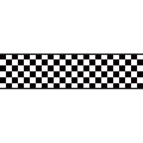 Checkered Flag Banner Clipart