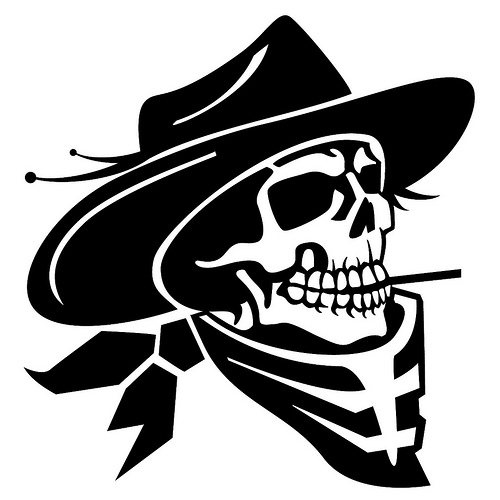 Cowboy Skull Vector Illustration | Flickr - Photo Sharing!