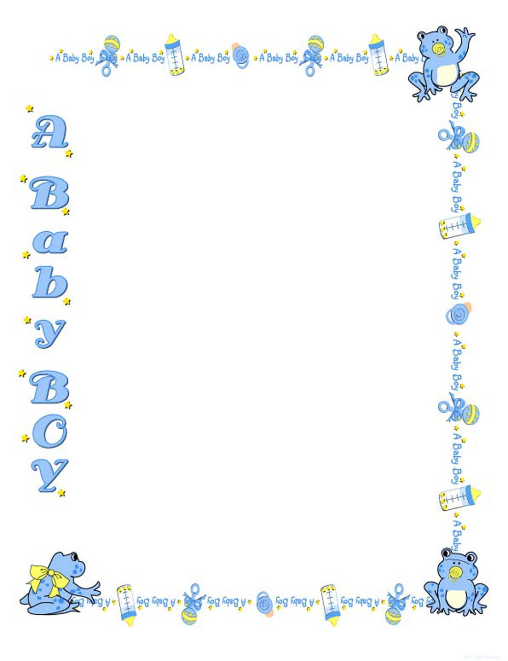 free clipart baby shower boy - photo #33