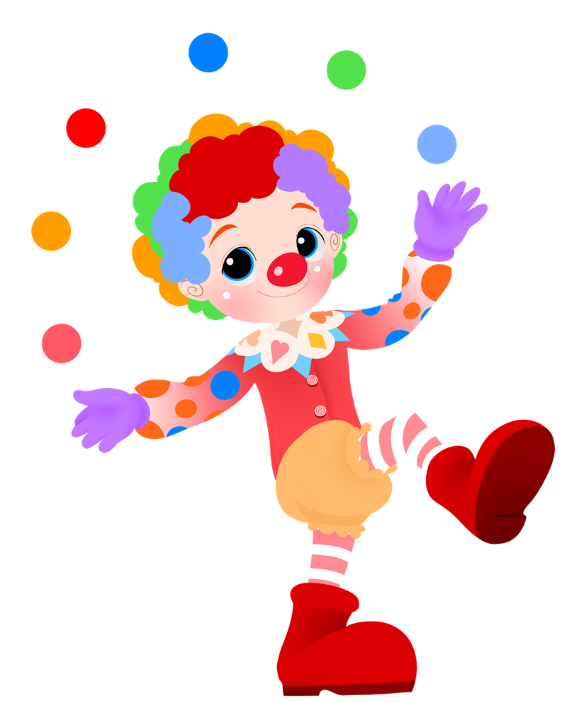 Cute Clown Pictures - Cliparts.co