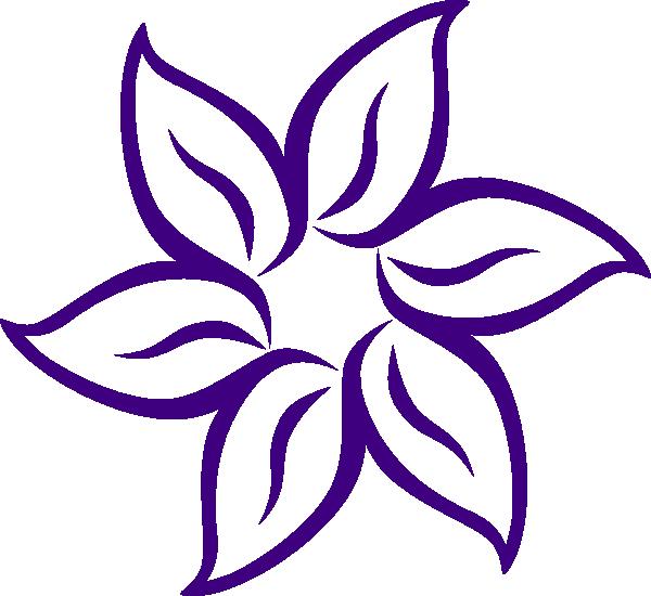 free blue lotus flower clip art - photo #16