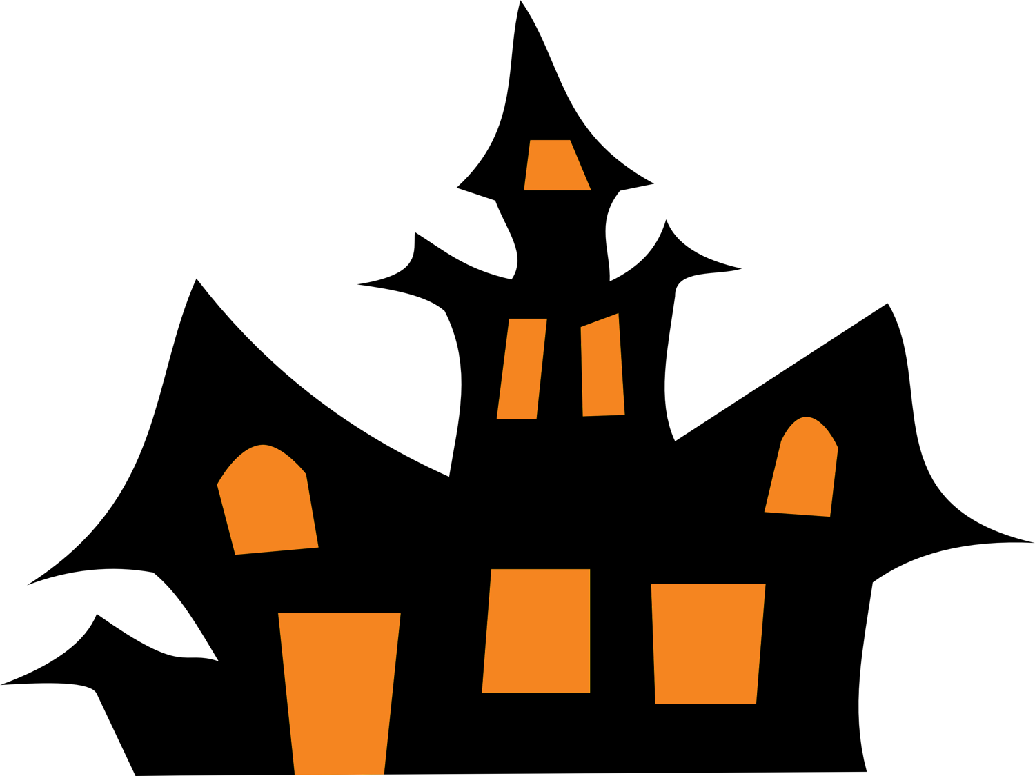 Haunted House Clip Art - Cliparts.co