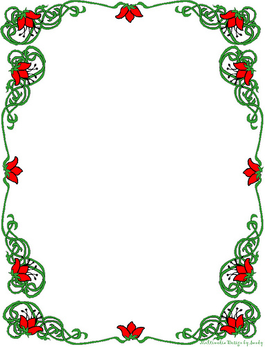 Free Christmas Clipart Borders Printable | Clipart Panda - Free ...