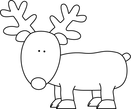 Cute Reindeer Clipart - Cliparts.co