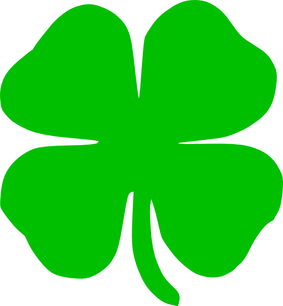 Outline Of A Shamrock - Cliparts.co