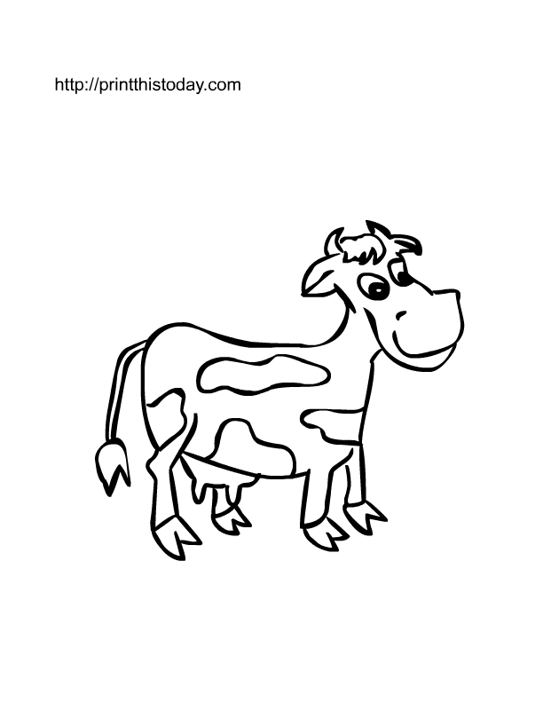 Free printable Farm animals coloring Pages | Print This Today
