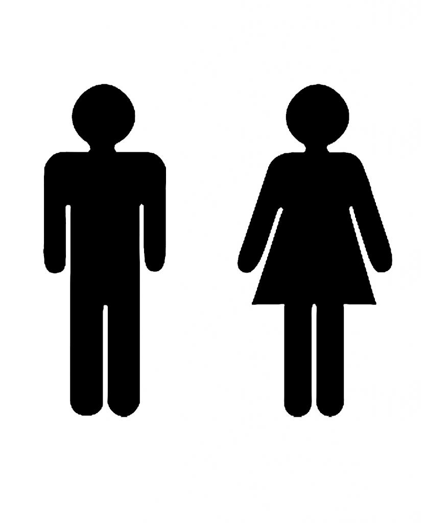Bathroom Signs Black And White ada bathroom signs ~ dact