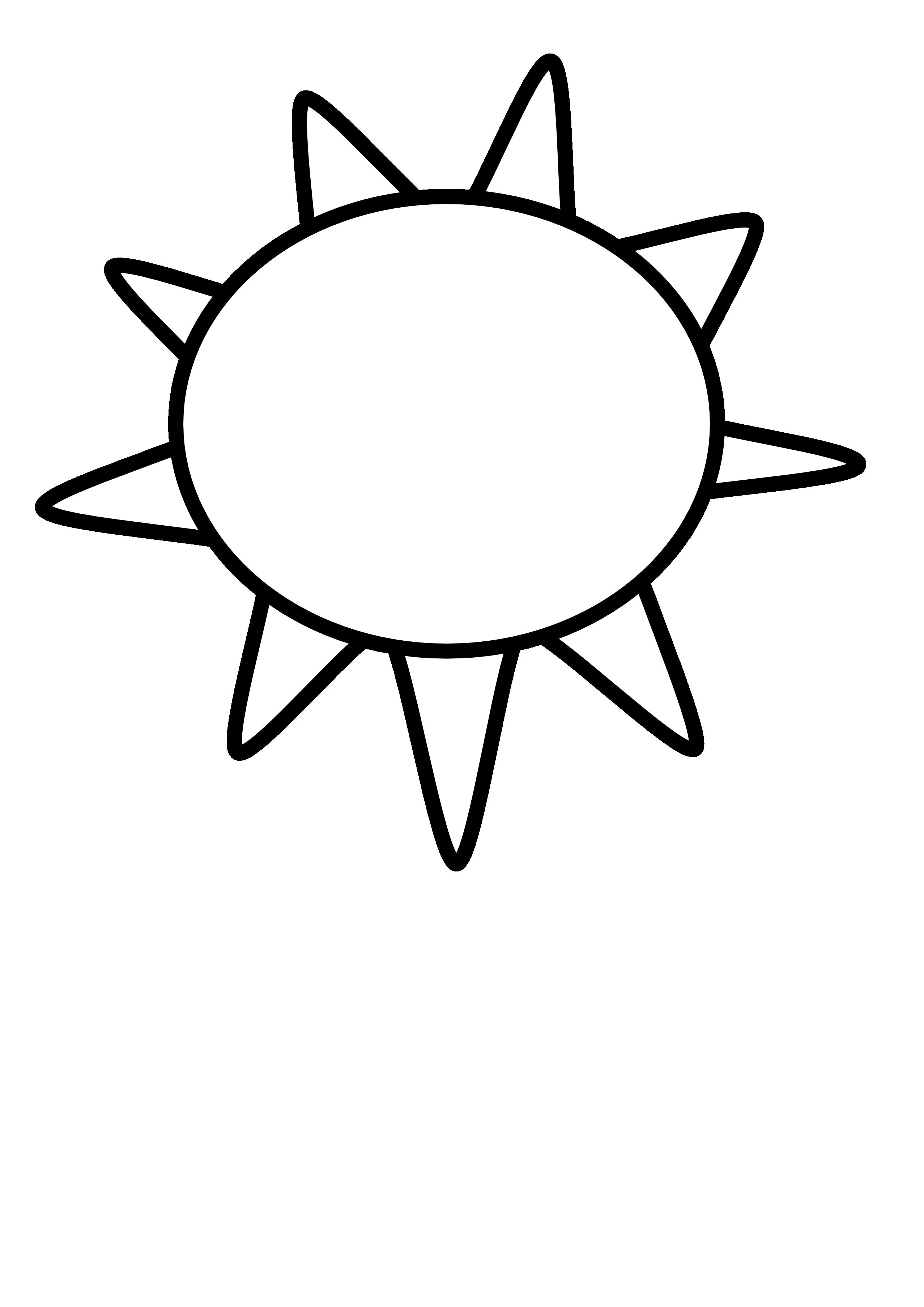 Black And White Sun Clipart - Cliparts.co