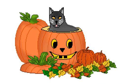 halloween scene clipart - photo #50