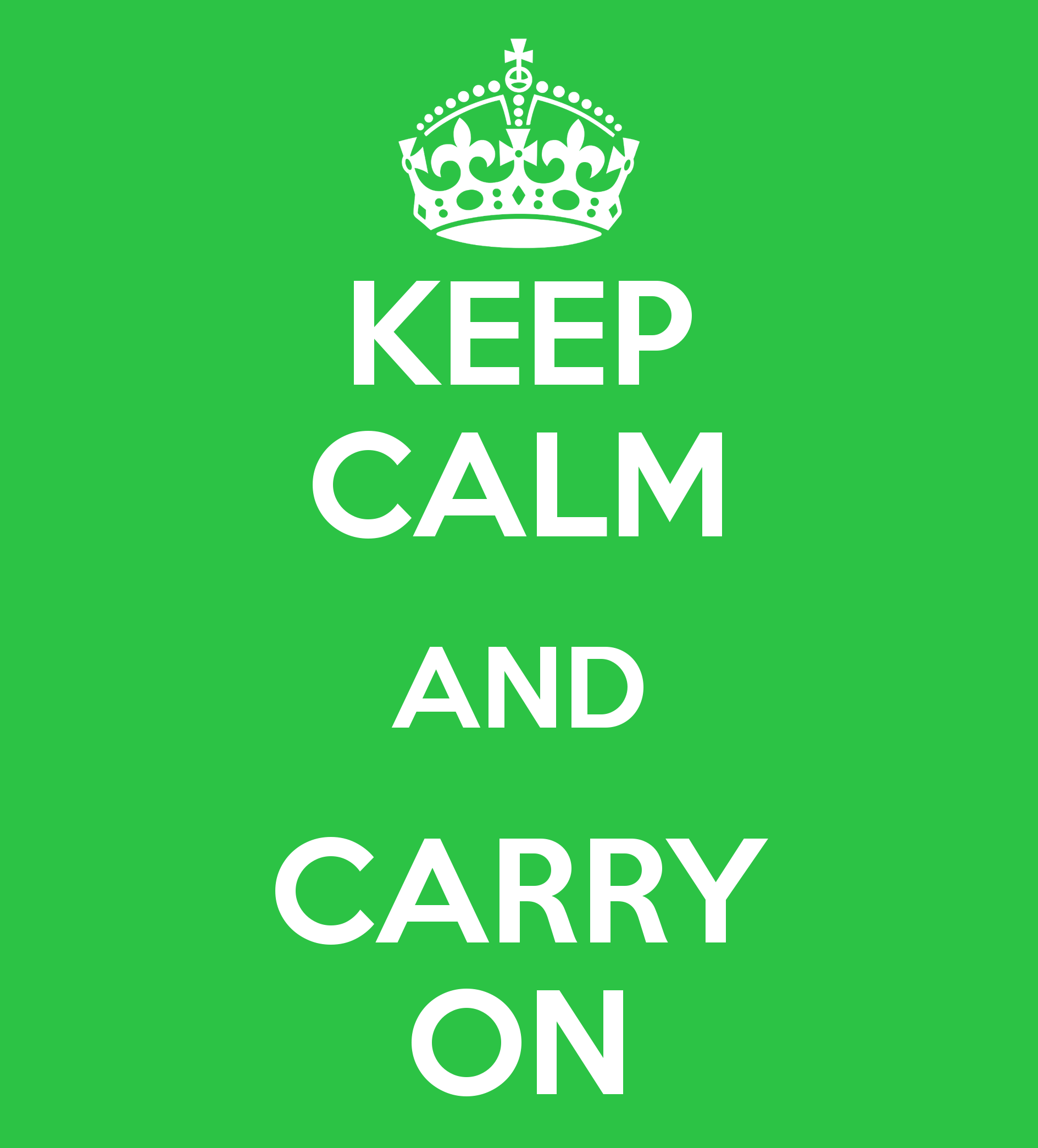 Keep Calm and carry on crown VECTOR READY TO ADD YOUR OWN ... |Keep Calm And Carry On Crown Vector