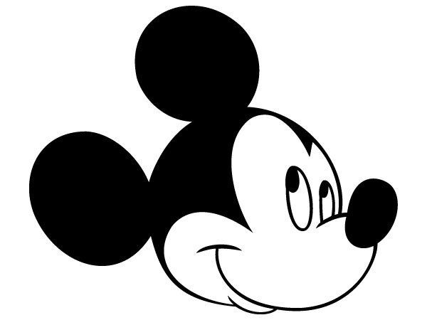 Mickey Mouse Head Silhouette (1) - Full High Quality Wallpaper ...