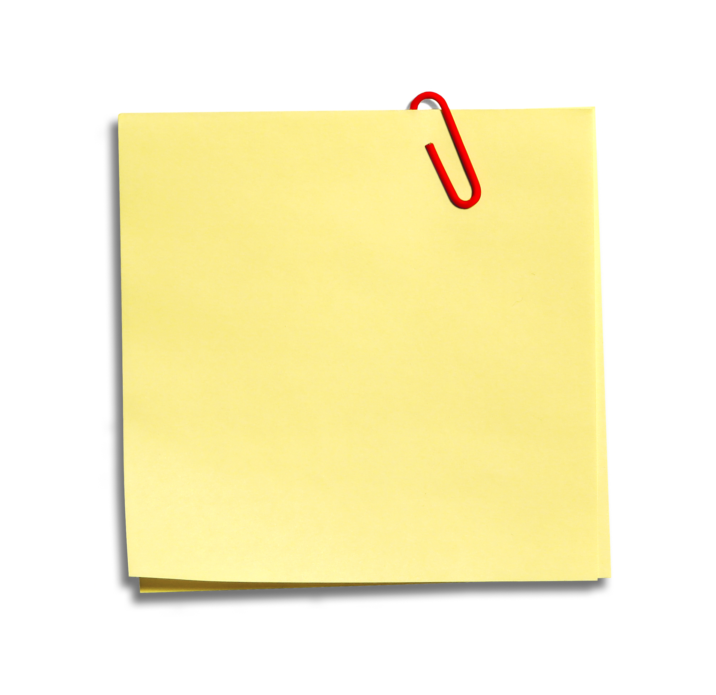 Post It Note Png - ClipArt Best