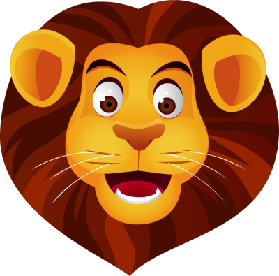 lion face color clipart rh worldartsme com animals lion face clipart cartoon lion face clip art