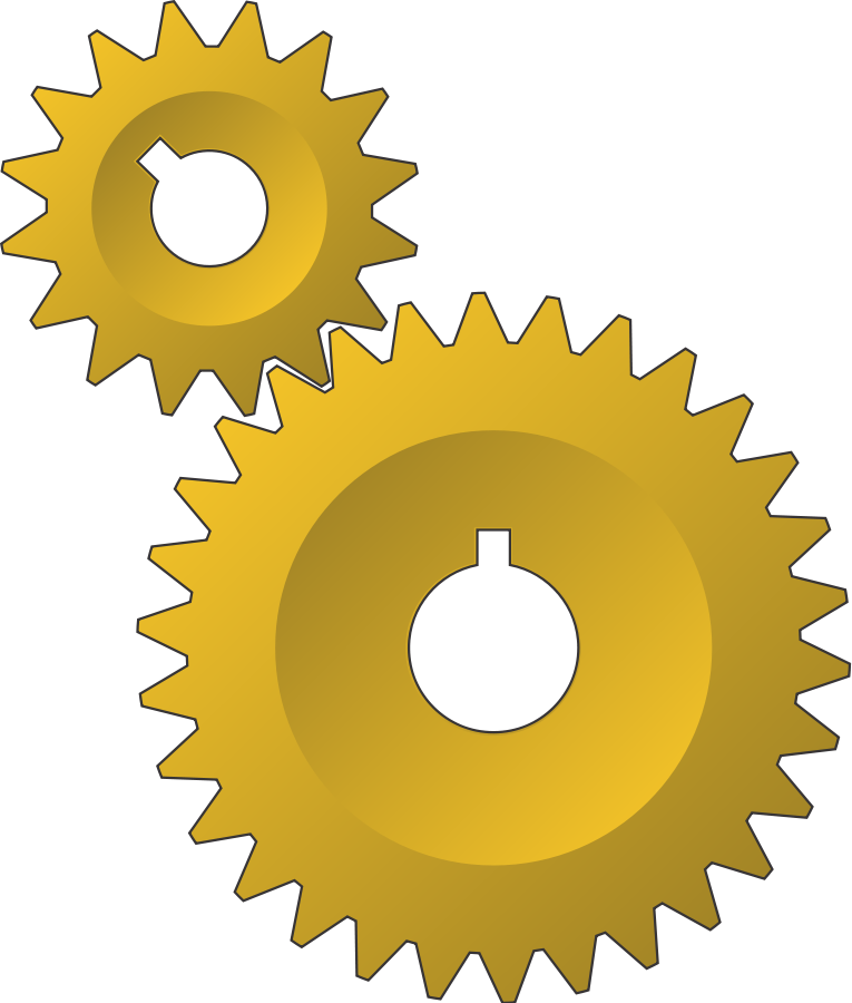 Impossible gears Clipart, vector clip art online, royalty free ...
