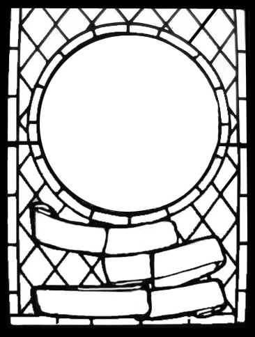 Stained glass clip art for Pages for windows
