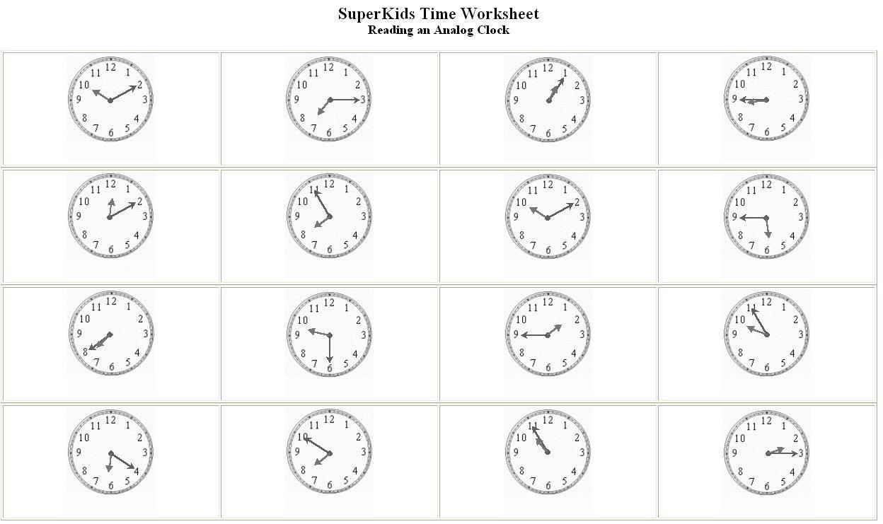 Clock Printables elapsed time worksheets 4th grade – Free Clock Worksheets