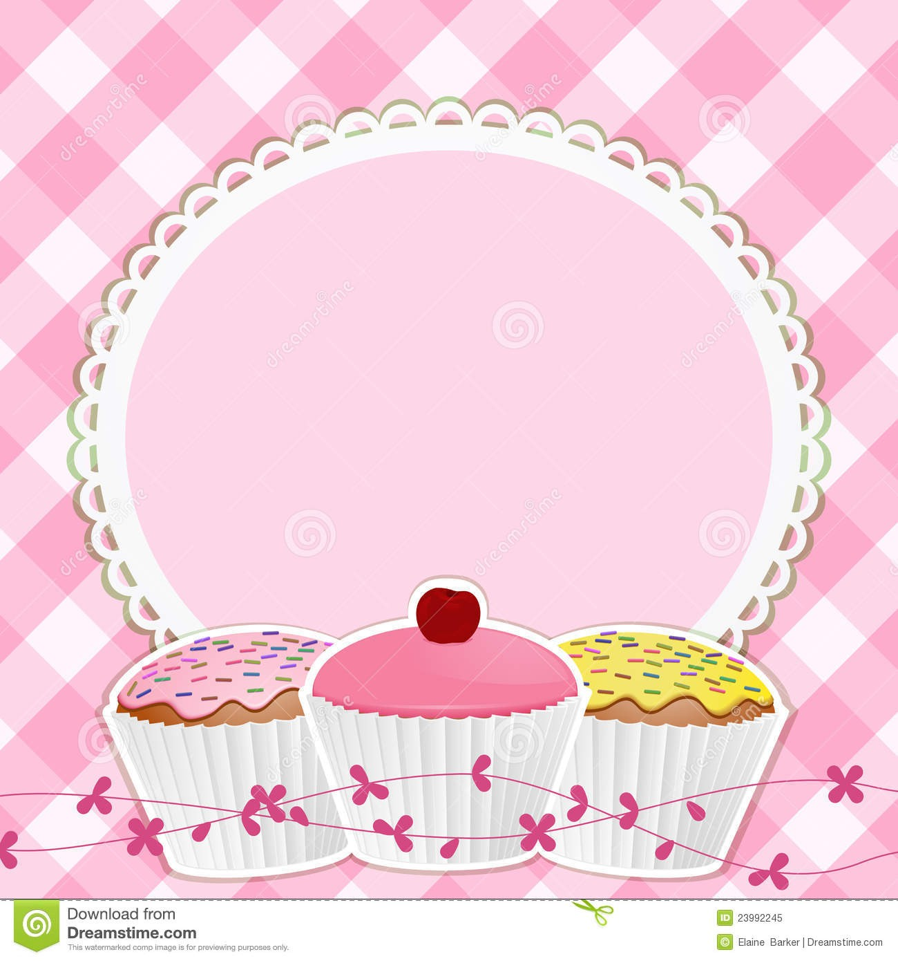 Cake Clipart Wallpaper : Cute Border Clipart - Cliparts.co
