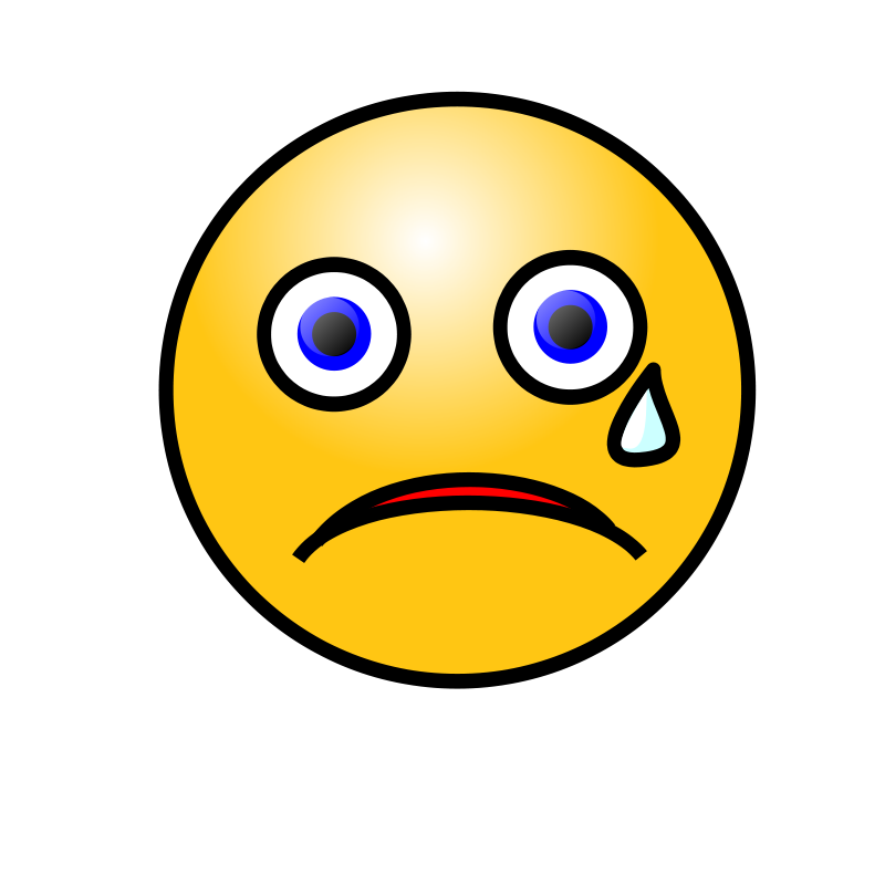Crying Face Clip Art
